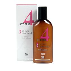 Sim Sensitive System 4 Therapeutic Oil Cure Mask O - Терапевтическая маска «О» для всех типов волос 215 мл