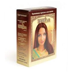 """Краска для волос травяная Aasha Herbals """"Каштановый"""" 6х10г"""