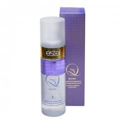 Estel Q3 Blond - Двухфазный кондиционер для блондированных волос, 100 мл