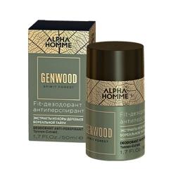 Estel Alpha Homme Genwood Fit - Дезодорант антиперспирант, 50 мл