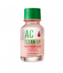 Etude House AC Clean Up Pink Powder Spot - Точечное средство для борьбы с акне 15 мл