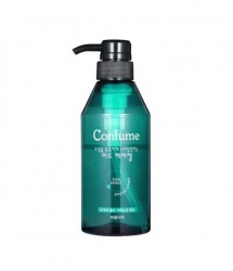 Welcos Confume Hair Gel - Гель для укладки волос сильной фиксации (зеленый), 400 мл