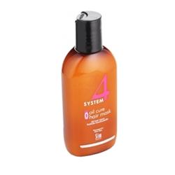 Sim Sensitive System 4 Therapeutic Oil Cure Mask O - Терапевтическая маска «О» для всех типов волос 100 мл