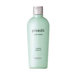 Lebel Proedit Care Works Soft Fit Shampoo - Шампунь для жестких и непослушных волос 300 мл