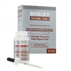 Bosley Hair Regrowth Treatment Extra Strength for Men 5% - Усилитель роста волос (для мужчин) 2*60 мл