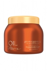 Schwarzkopf Oil Ultime Oil-in-Cream Treatment - Маска для жестких и средних волос, 500 мл