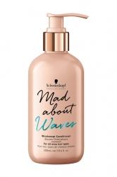 Schwarzkopf Mad About Waves Windswept conditioner - Кондиционер для всех типов волнистых волос, 250 мл