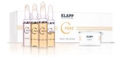 """Klapp C pure Face infusion - Набор для моментального лифтинг-эффекта """"Инфузия витамина С"""""""
