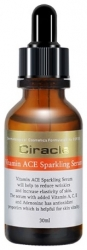 Ciracle Vitamin ACE Sparkling Serum - Сыворотка для лица антивозрастная, 30мл