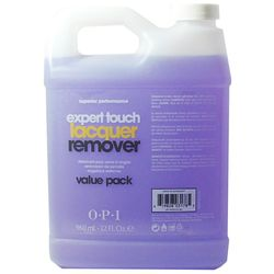 OPI Expert Touch GelColor - Жидкость для снятия лака ярких оттенков, 4 шт по 960 мл