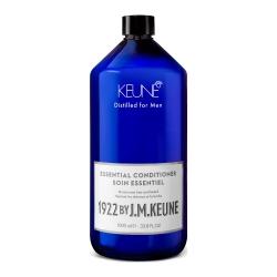Keune 1922 Care Essential Conditioner -  Универсальный кондиционер для волос и бороды, 1000 мл