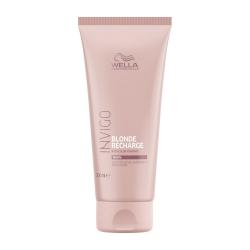 Wella Invigo Blonde Recharge - Оттеночный бальзам-уход для тёплых светлых оттенков 200 мл