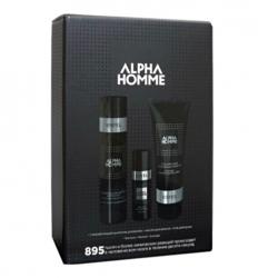 Estel Alpha Homme - Набор 895 (тонизирующий шампунь для волос, масло для бритья, гель для душа)