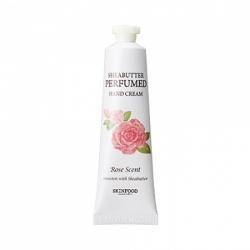 Skinfood Shea Butter Perfumed Hand Cream Rose Scent - Крем для рук парфюмированный, 30 мл