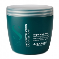 Alfaparf Milano Semi Di Lino Reconstruction Reparative Mask - Маска для поврежденных волос 500мл
