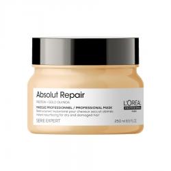 L'Oreal Professionnel Absolut Repair Gold Quinoa+Protein Masque РЕНО - Маска кремовая для очень поврежденных волос 500 мл