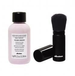 Davines Your Hair Assistant Duo Pack Volume creator and brush - Набор: пудра для объема волос + кисть