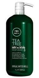 Paul Mitchell Tea Tree Hair And Body Moisturizer - Несмываемый увлажняющий кондиционер для волос и тела 1000 мл