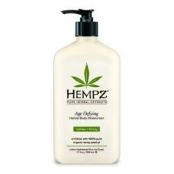 Hempz Age Defying Moisturizer - Молочко для тела увлажняющее Антивозрастное, 520 мл