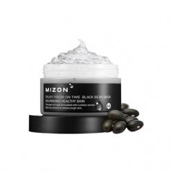 Mizon Enjoy Fresh-On Time Black Been Mask - Маска для лица с экстрактом соевых бобов, 100 мл