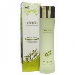 Deoproce Olivetherapy Essential Moisture Lotion - Лосьон увлажняющий с маслом оливы, 150 мл