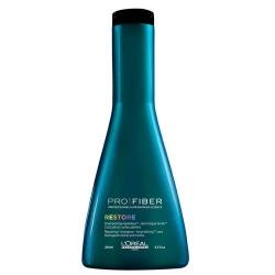 L'Oreal Pro Fiber Restore Shampoo - Шампунь для длительного восстановления Про Файбер Рестор 250 мл