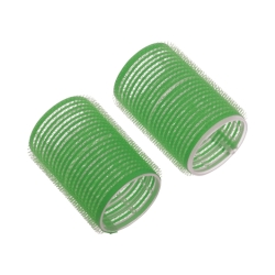 Dewal R-VTR8 - Бигуди-липучки зеленые d 20мм (12шт)