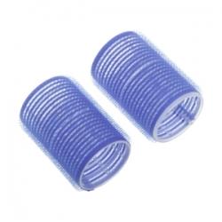 Dewal R-VTR19 - Бигуди-липучки синие d 78мм (6шт)