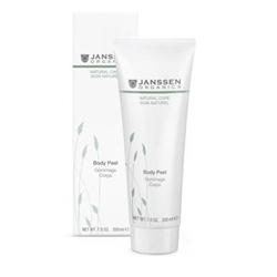 Janssen Organics Body Peel - Деликатный пилинг для выравнивания рельефа кожи тела 200 мл