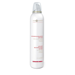 Hair Company Double Action Anti-Age Reconstruction Mousse - Мусс восстанавливающий против старения волос 200 мл