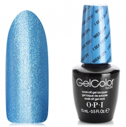 Opi GelColor I Sea You Wear OPI, - Гель-лак для ногтей, 15мл