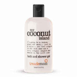Treaclemoon My coconut island bath & shower gel - Гель для душа Кокосовый Рай, 500 мл