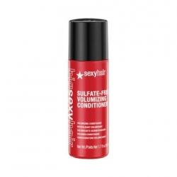 Big Sexy Hair Color safe volumizing conditioner 50 ml - Кондиционер для объема без сульфатов и парабенов 50 мл
