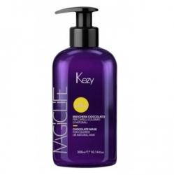 "Kezy Magic Life Chocolate mask for colored natural hair - Маска ""Шоколад"" для окрашенных или нат.волос, 300мл"