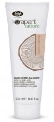 Lisap Milano Keraplant Nature Skin-Calming Mud - Маска успокаивающая для чувствительной кожи головы с белой глиной, 250мл