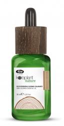 Lisap Milano Keraplant Nature Skin-Calming Essential Oil - Масло эфирное успокаивающее для чувствительной кожи головы, 30мл
