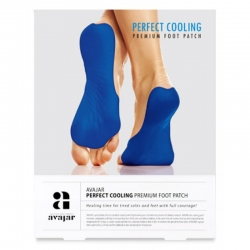 Avajar Perfect Cooling Premium Foot Patch - Патч охлаждающий для ступней ног, 1 пара