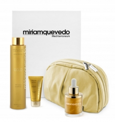 Miriam Quevedo The Ultimate Luxurious Global Anti-Aging Sublime Gold Edition - Делюкс набор на основе золота 24 карата, 2 х 50 мл, 250 мл. Общий объем: 350 мл