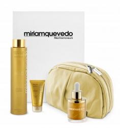 Miriam Quevedo The Ultimate Luxurious Global Anti-Aging Sublime Gold Edition - Делюкс набор на основе золота 24 карата, 2 х 50 мл, 250 мл. Общий объем: 350 мл