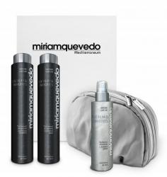 Miriam Quevedo The Ultimate Luxurious Global Anti-Aging Platinum And Diamonds Edition - Делюкс набор на основе платины и бриллиантов, 2 х 250 мл, 150 мл. Общий объем: 650 мл