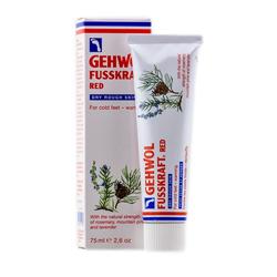 Gehwol Fusskraft Red Dry Rough Skin - Красный бальзам для сухой кожи 75 мл