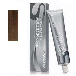 Matrix Extra Coverage Socolor Beauty - Крем-краска перманентная 505G блондин золотистый 100% покрытие седины, 90 мл