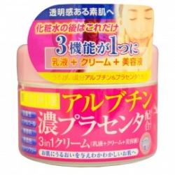 Roland Крем для лица с арбутином и плацентой, 180 гр