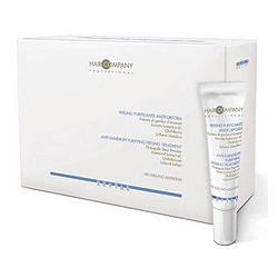 Hair Company Double Action Anti-Dandruff Purifying Peeling Treatment - Пиллинг против перхоти 10*15 мл. Общий объем: 150 мл
