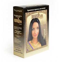 Aasha Herbals Краска для волос травяная «Черный» 6*10 гр