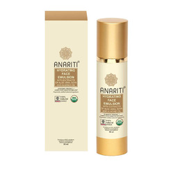 Anariti Face Emulsion Hydrating - Эмульсия увлажняющая Для лица и шеи с экстрактами алое вера, сои и миндальным маслом 50 мл