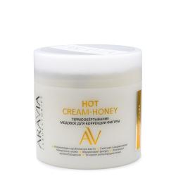 Aravia Laboratories Hot Cream-Honey - Термообёртывание медовое для коррекции фигуры, 300 мл
