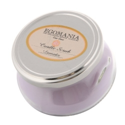 "Egomania Candle Body Scrub ""Lavender"" - Свеча-Скраб для тела ""Лаванда"" 290 Мл"