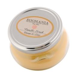 "Egomania Candle Body Scrub ""Orange and Lemon"" - Свеча-Скраб для тела ""Апельсин и Лимон"" 290 мл"