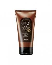 Skinfood Black Sugar Perfect Scrub Foam - Пенка-скраб для умывания с экстрактом черного сахара, 180 г
